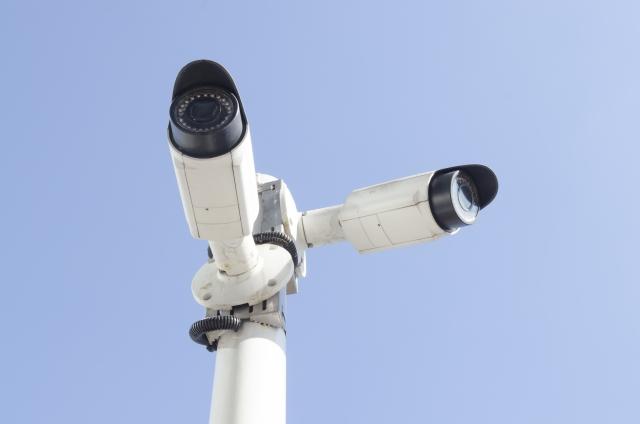 不審者の防止に効果的な防犯カメラ例