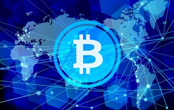 世界中にネットワークのあるビットコイン